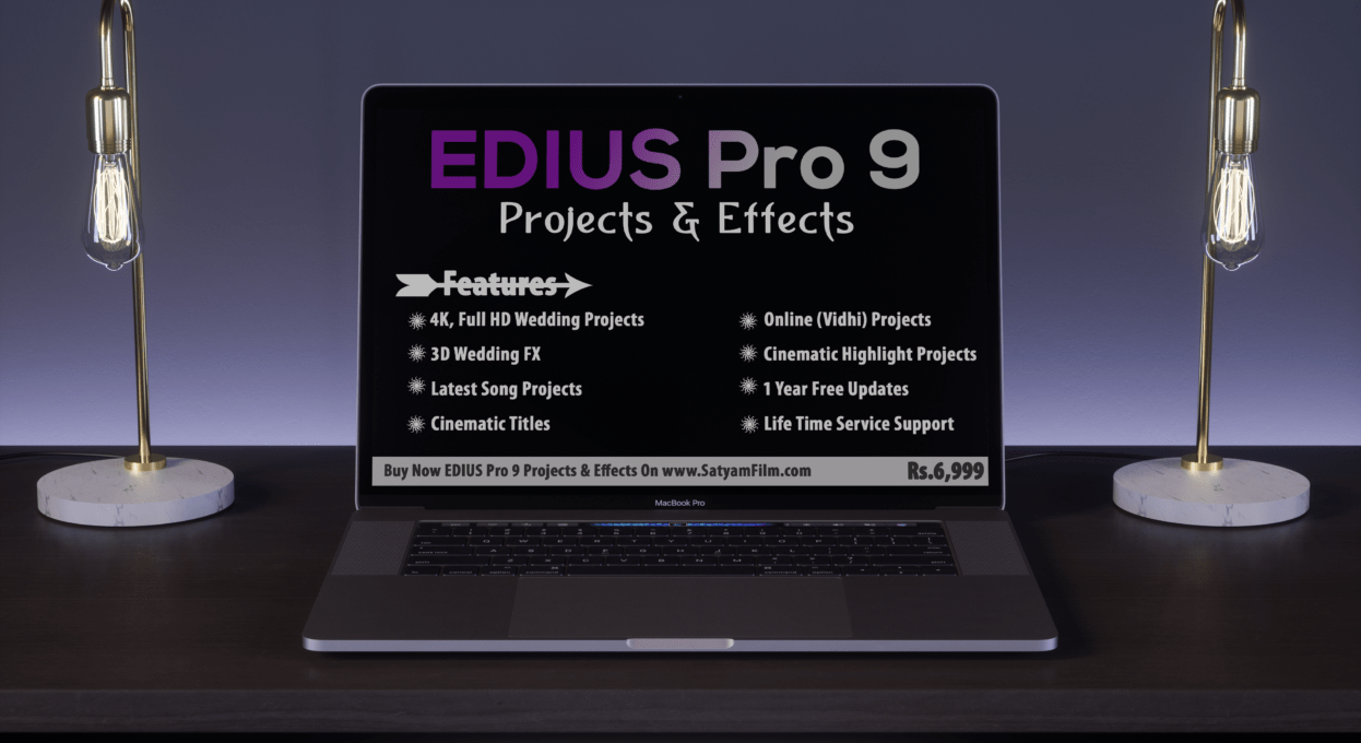 Edius & After Effects Wedding Projects & 3D Effects- Satyam Film