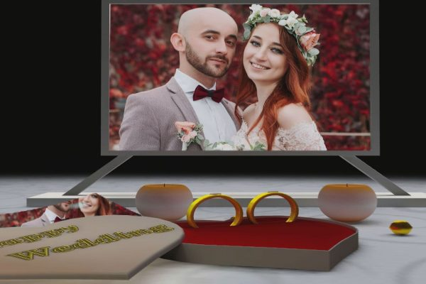 3D Animated Wedding Effects For EDIUS Pro 9